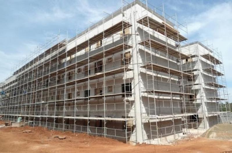 Empresa de Locação Andaime Fachadeiro Dentro da Norma Coroado III - Locação de Andaime Fachadeiro