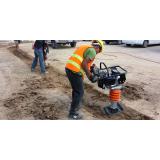 compactador de solo Praça 14 de janeiro