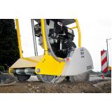 máquina de obra para cortar piso Humaitá