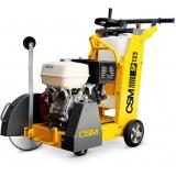 máquina de cortar piso grande